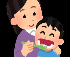 子供への歯磨き