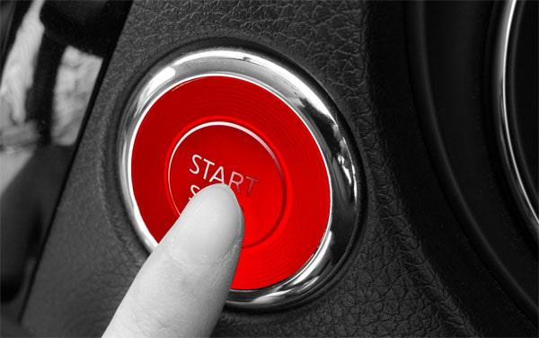 赤いボタン
